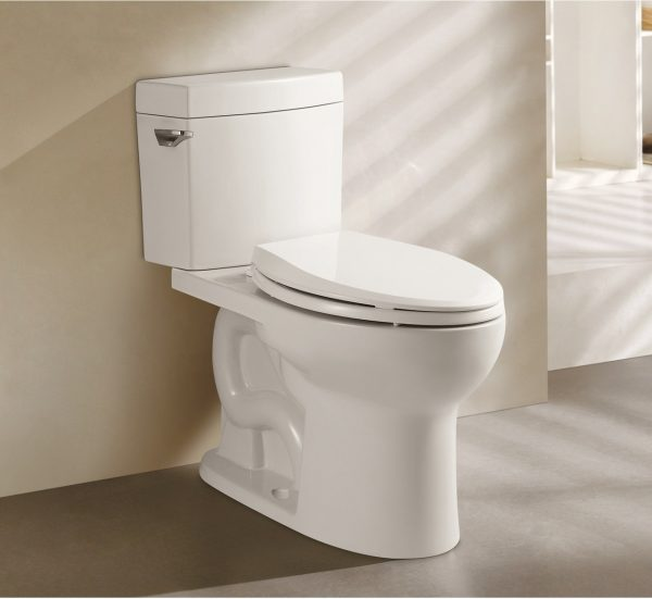 LOTTARE 100005 Siphonic Closed-Couched Closet Toilet White