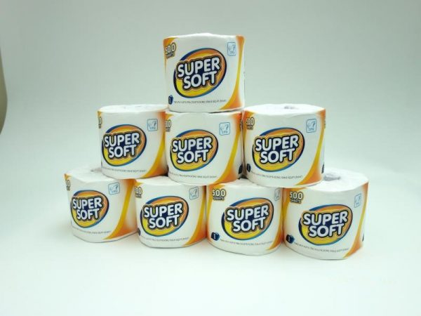 super soft toilet tissue